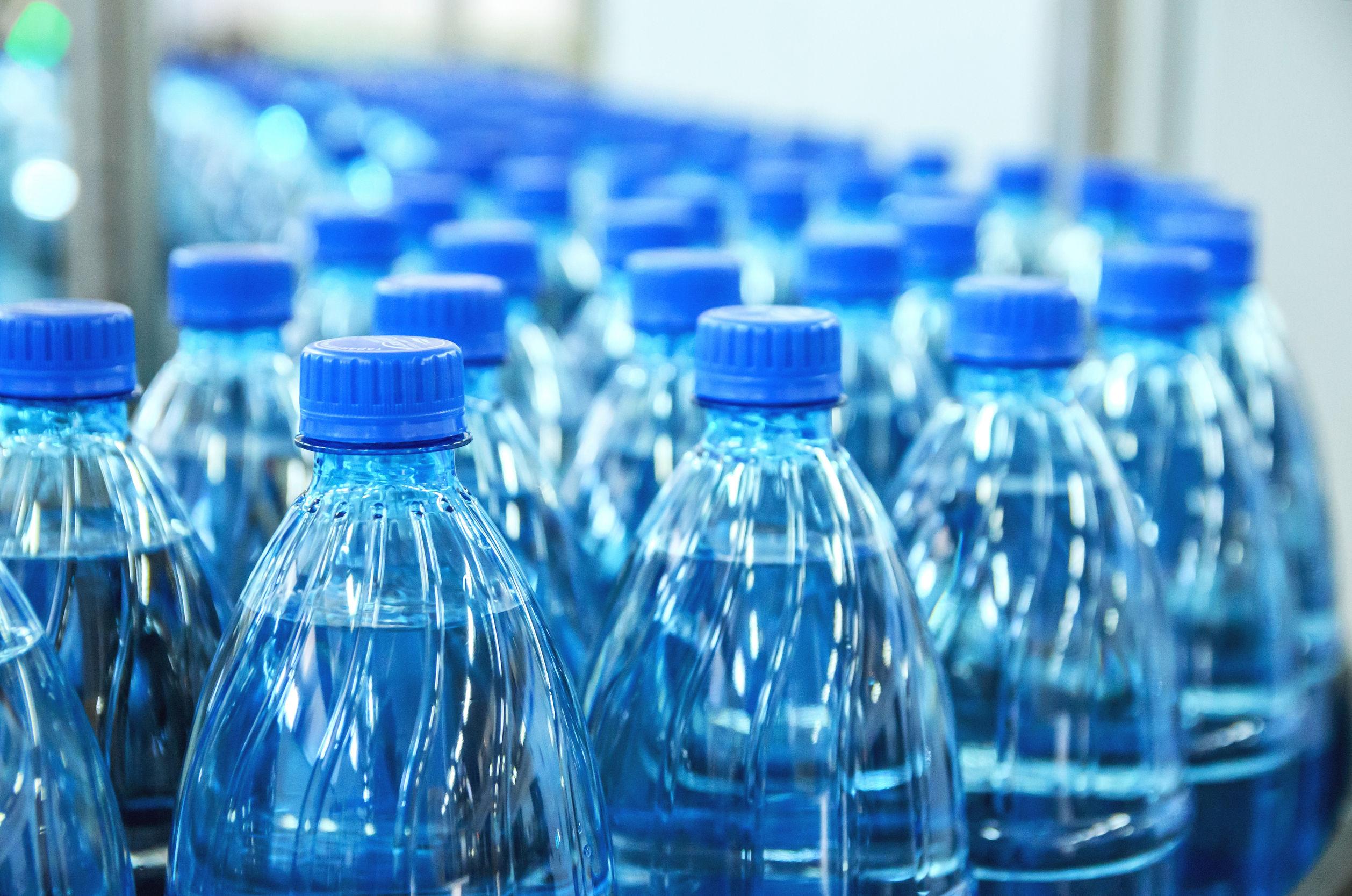 sản xuất nước đóng chai