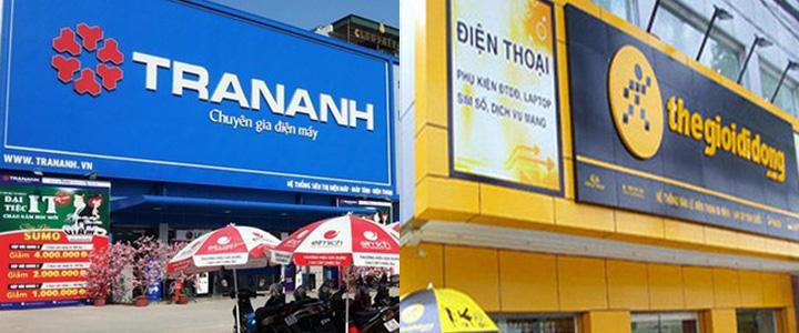 Thế Giới Di Động trả phí sử dụng thương hiệu 'Trần Anh'