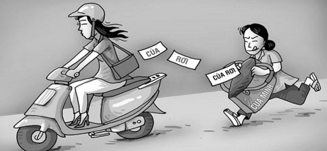 Tội chiếm giữ trái phép tài sản
